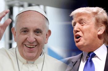 Análise do Papa Francisco e Donald Trump