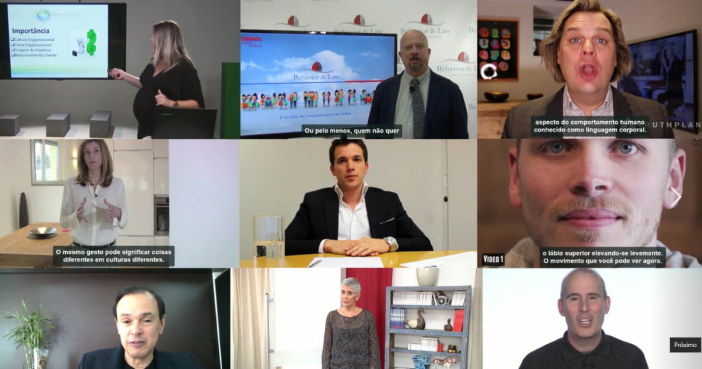 Workshop Online de Linguagem Corporal