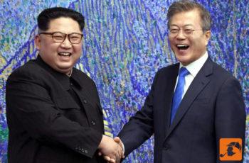 A Linguagem Corporal de Kim Jong-un e Moon Jae-in